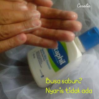 Pengalamanku Pakai Cetaphil Gentle Skin Cleanser Tanpa Busa.