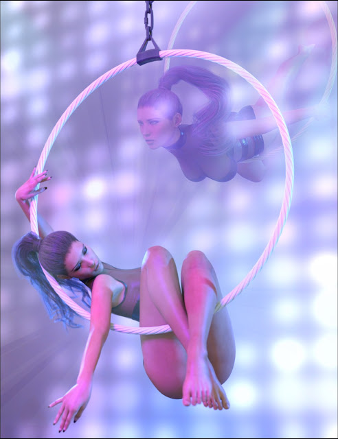 Z Up In The Air - Hoop  Poses