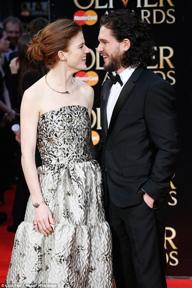 Kit Harington and Rose Leslie make first red carpet appearance as a couple
