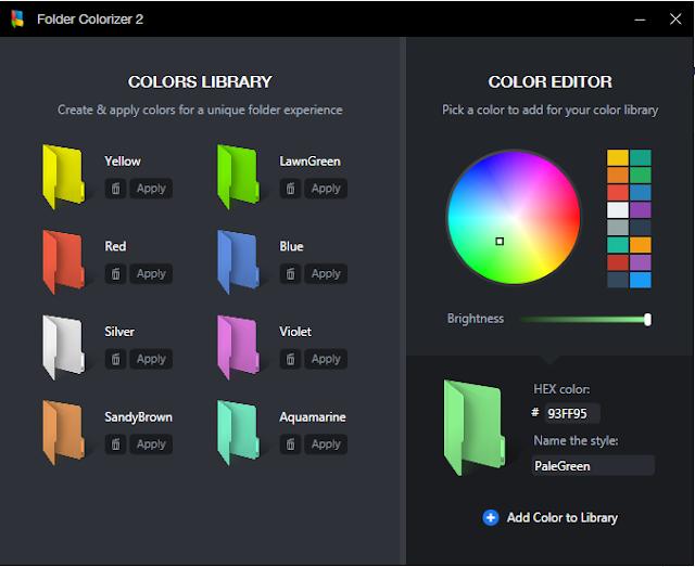 Download Folder Colorizer 2.0.10 Terbaru Gratis