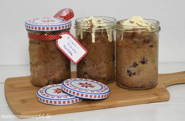 Ein Rezept Fur Kirsch Schokoladen Kuchen Im Glas Zuckersusse