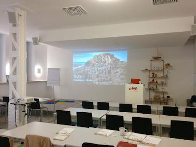Google-Workshops: die Seminarräume.