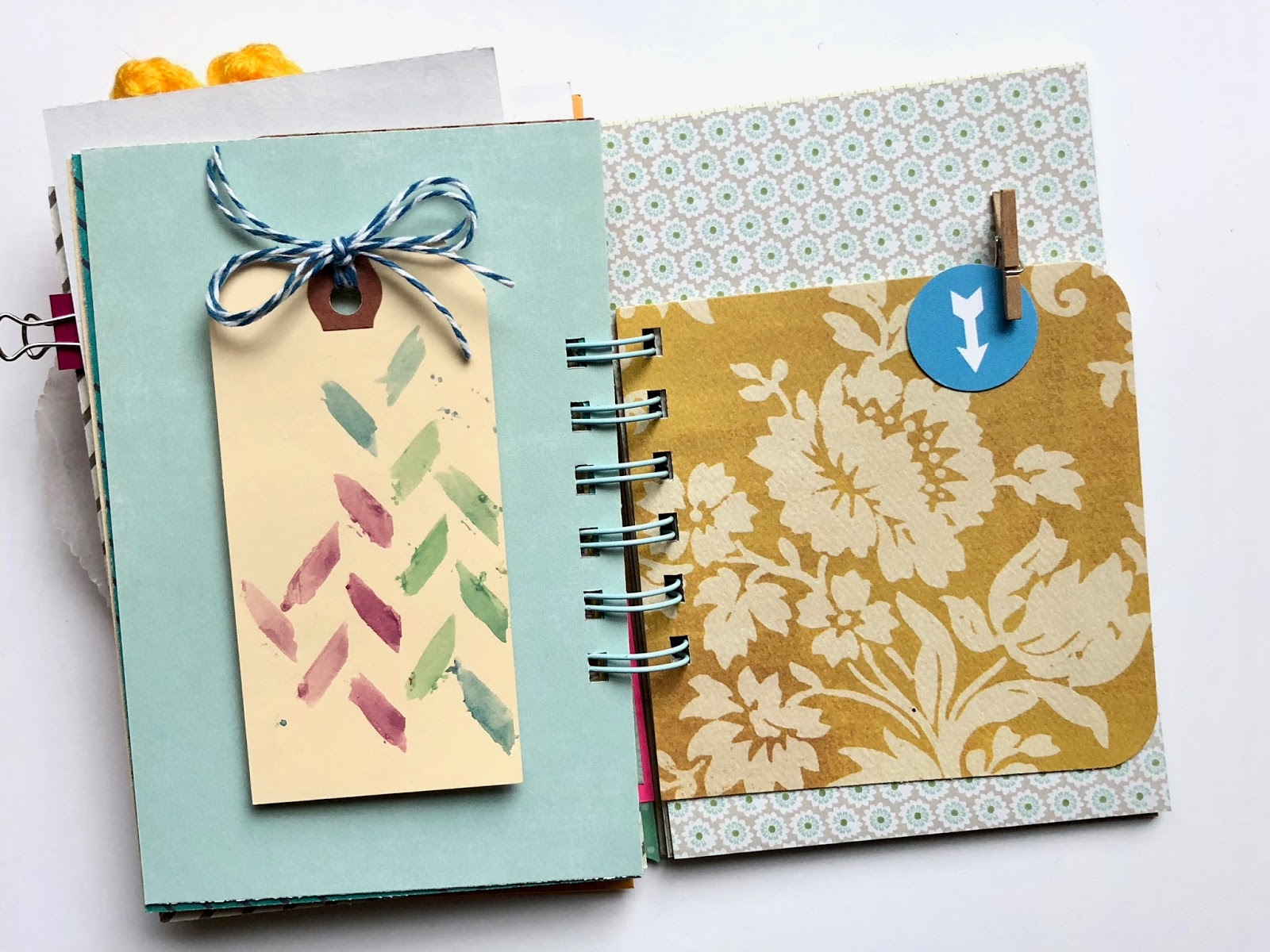 #30lists #smashbook #mini album #mini book #scrapbooking #30 Days of Lists #journal