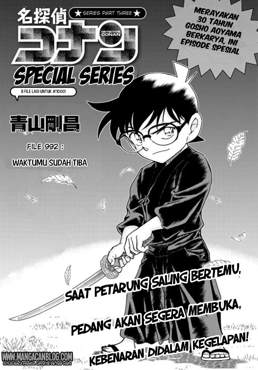 Dilarang COPAS - situs resmi www.mangacanblog.com - Komik detective conan 992 - waktumu sudah tiba 993 Indonesia detective conan 992 - waktumu sudah tiba Terbaru 1|Baca Manga Komik Indonesia|Mangacan