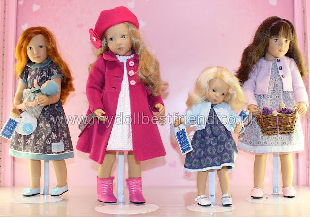 Sylvia Natterer Finouche and Minouche dolls