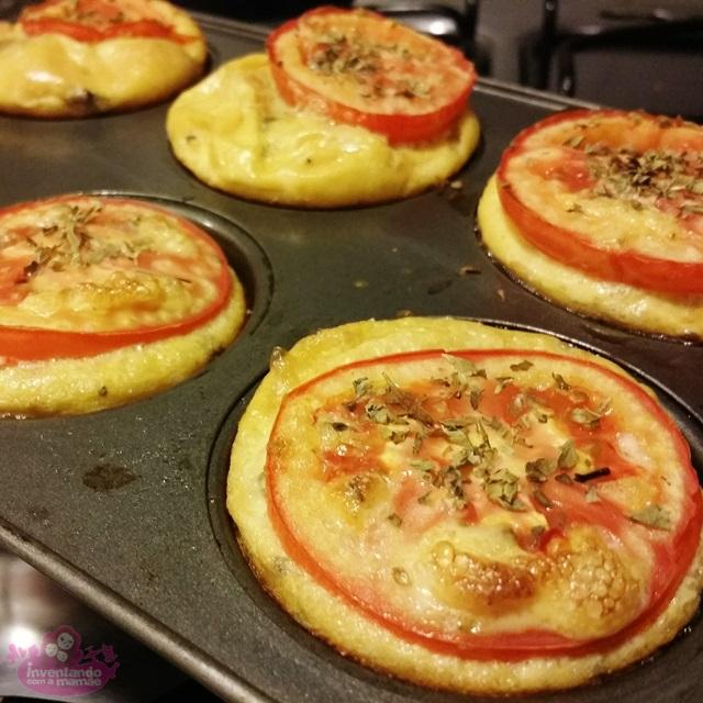 Omelete de quinoa com shimeji