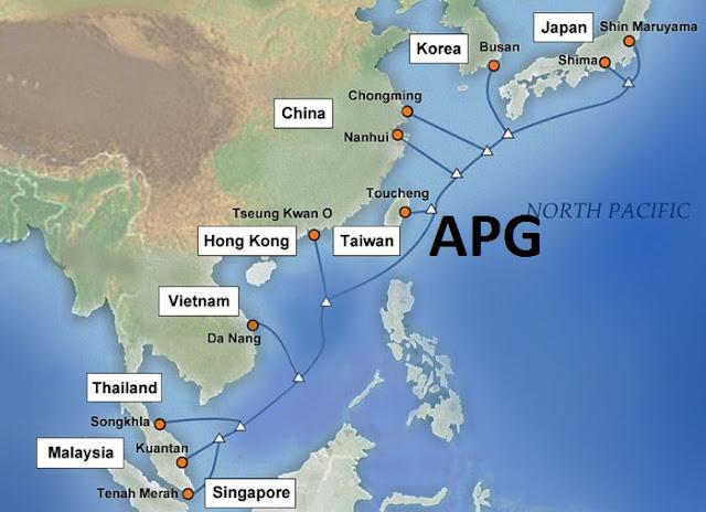 Sự cố cáp quang biển APG đã được khôi phục 100% dung lượng