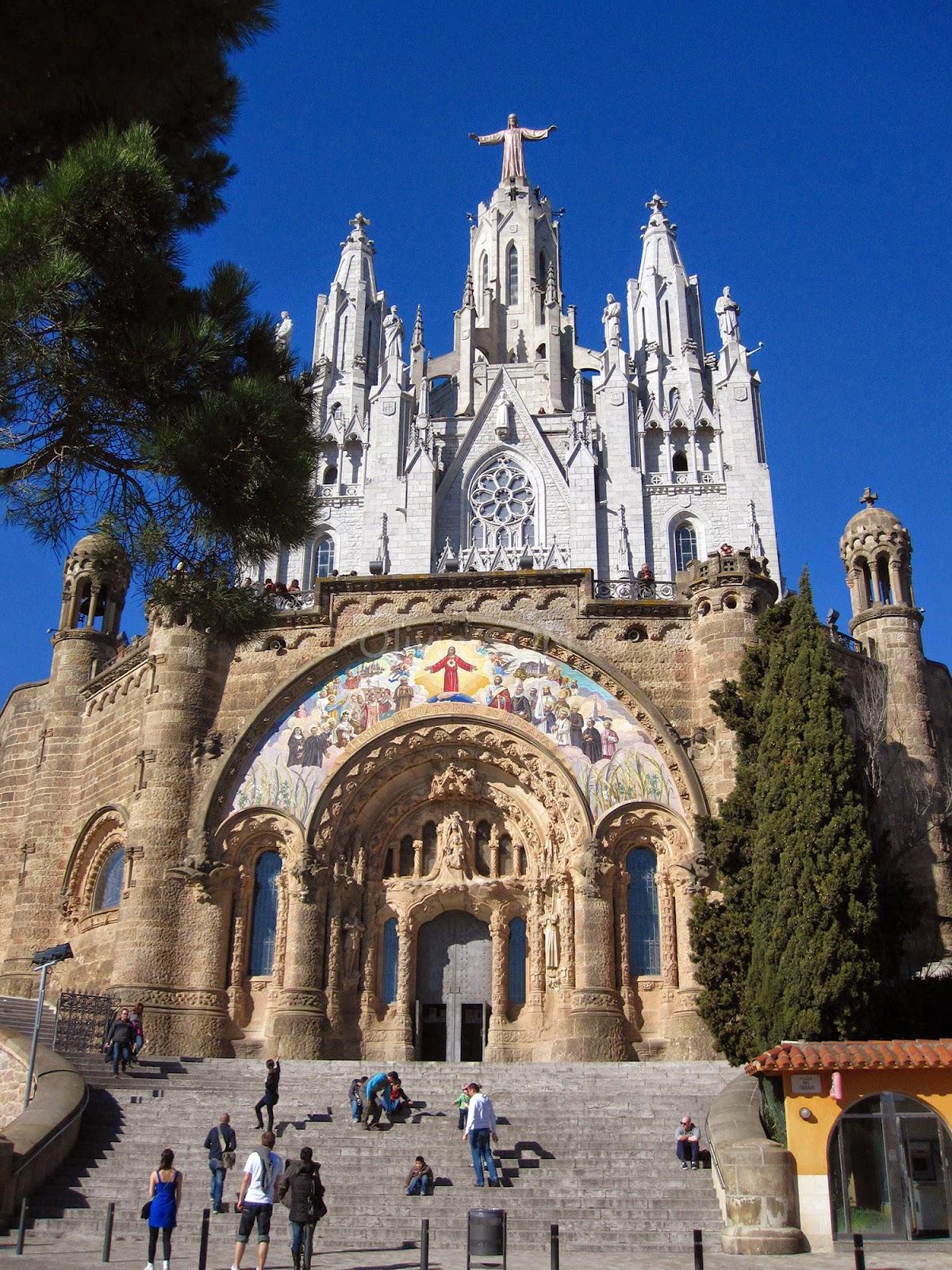 tibidabo barcelone espagne, europe