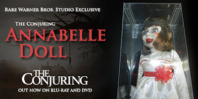 CONTEST: win an Annabelle doll from The Conjuring, ends 11/8