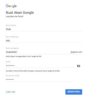 Cara Membuat Email Di Gmail Terbaru di HP atau Laptop satu
