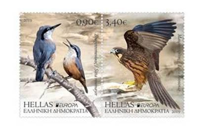 EUROPA 2019: Τα «μελωδικά» γραμματόσημα