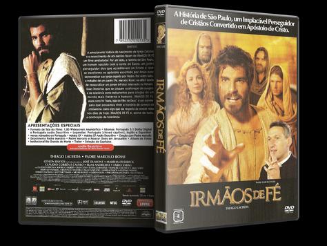 Capa DVD Irmãos de Fé (Oficial)