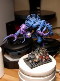 Broodlord rocking some painted skulls.