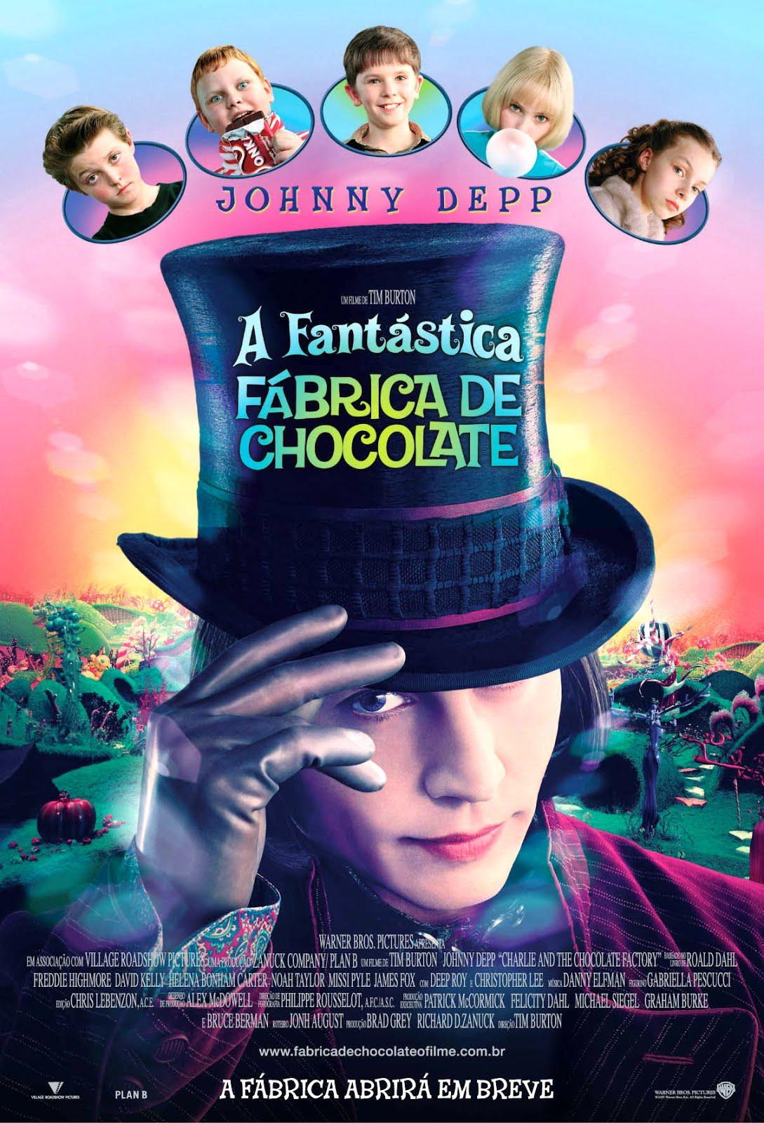 Resultado de imagem para a fantastica fabrica de chocolate sinopse
