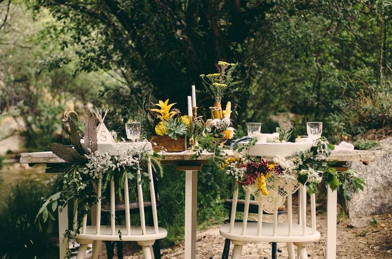 Arreglo floral campestre