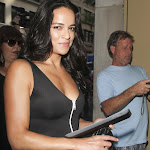 Things that make you go Wowza! Michelle Rodriguez in tight dress at NBC Today
