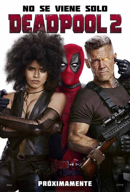 Deadpool 2 (2018) 720p y 1080p WEBRip mkv Dual Audio AC3 5.1 ch