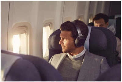 Source: Sony. Ideal for travellers, the WH-1000XM2 headphones feature Atmospheric Pressure Optimising3. The technology analyses the surrounding atmospheric pressure and improves noise cancellation performance.