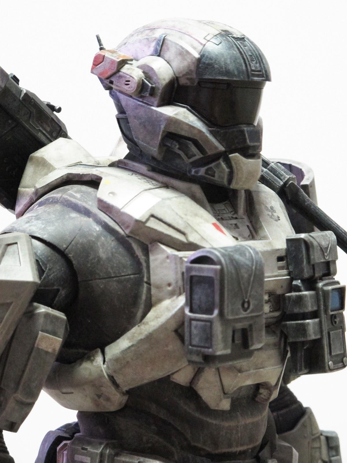 Psycho Ming  Threea Halo Reach Spartan Mark V Commando