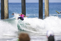 16 Sage Erickson Vans US Open of Surfing foto WSL Kenneth Morris