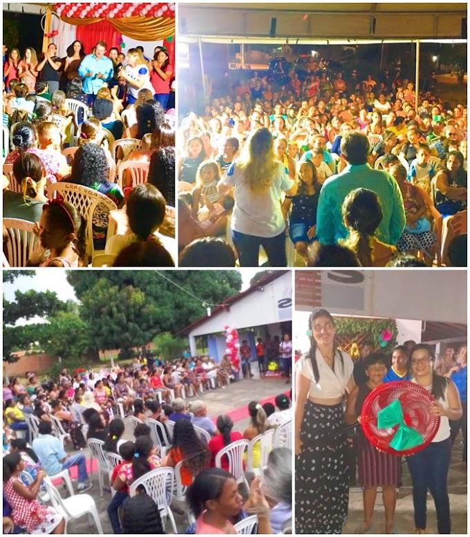 Prefeitura de Chapadinha-MA homenageia Mães na Vila Izamara e Campo Velho