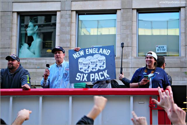 Desfile de los Patriots por la Celebración de la Super Bowl LIII