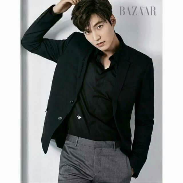Beauty And Body Of Male : Lee Min Ho For Harper's Bazaar