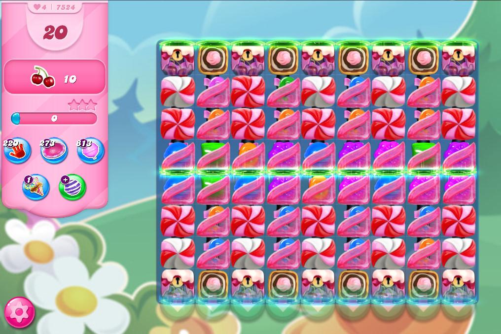 Candy Crush Saga level 7524