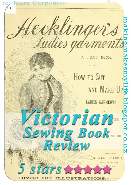 Victorian sewing book Hecklinger's Ladies' Garments -  by Chas Hecklinger