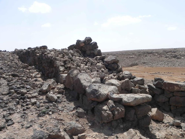 Prehistoric fortifications found in the Basalt Desert of Eastern Jordan