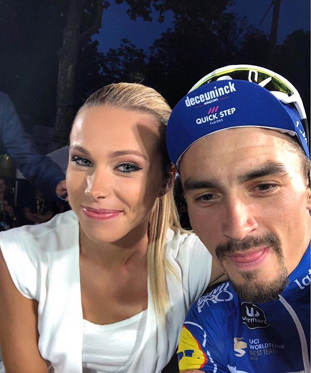 ¿Marion Rousse y Julian Alaphilippe son pareja?