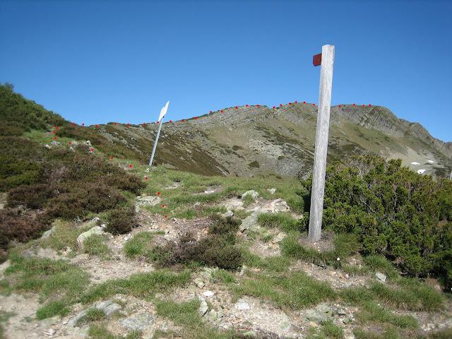 Rutas Montaña Asturias: Parte final de la ascensión al Cueto Arbás