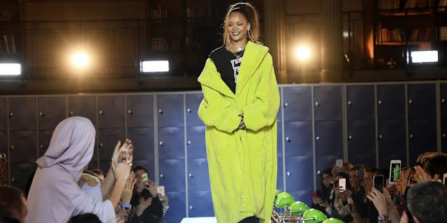 Rihanna coleção para PUMA