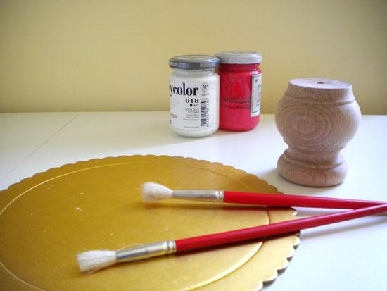 Come realizzare un'alzata per torta - TUTORIAL   Il Bel ...