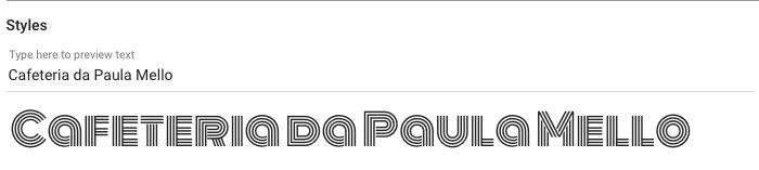 Escolhendo fonte para o seu logo no Google Fonts