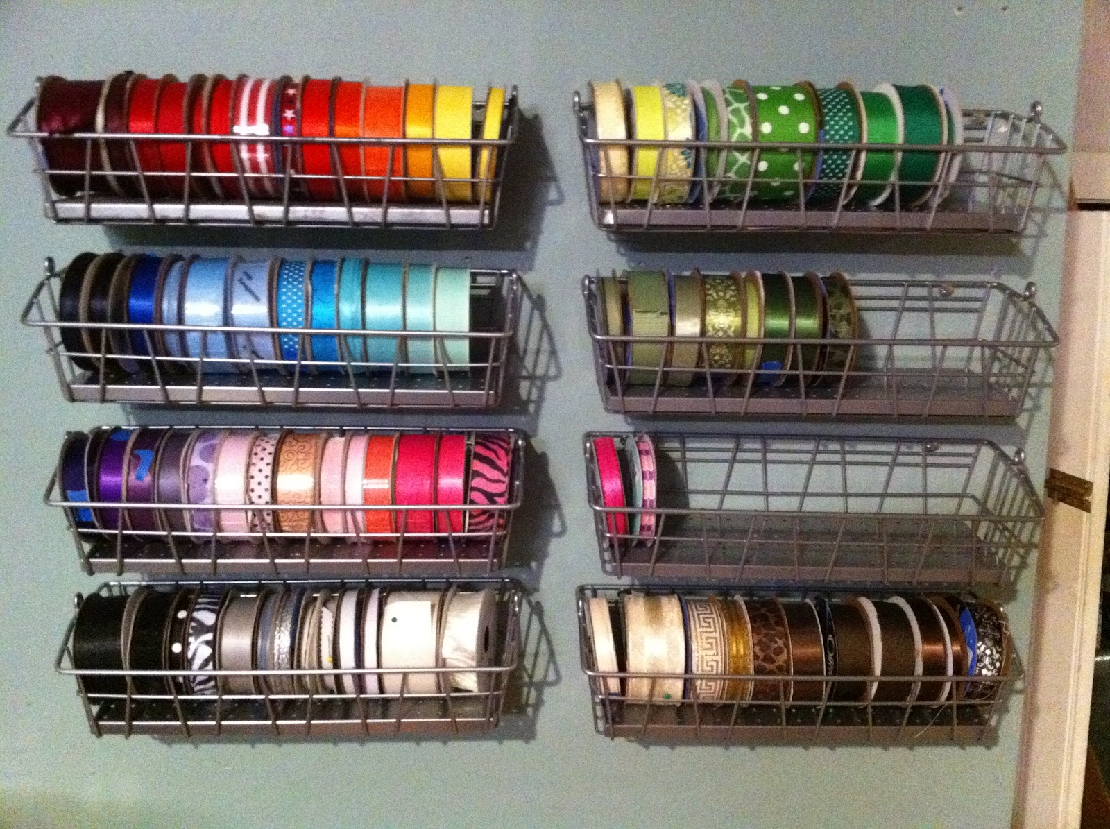 craft ribbon storage ideas angry kitten crafts ribbon storage several options 4015