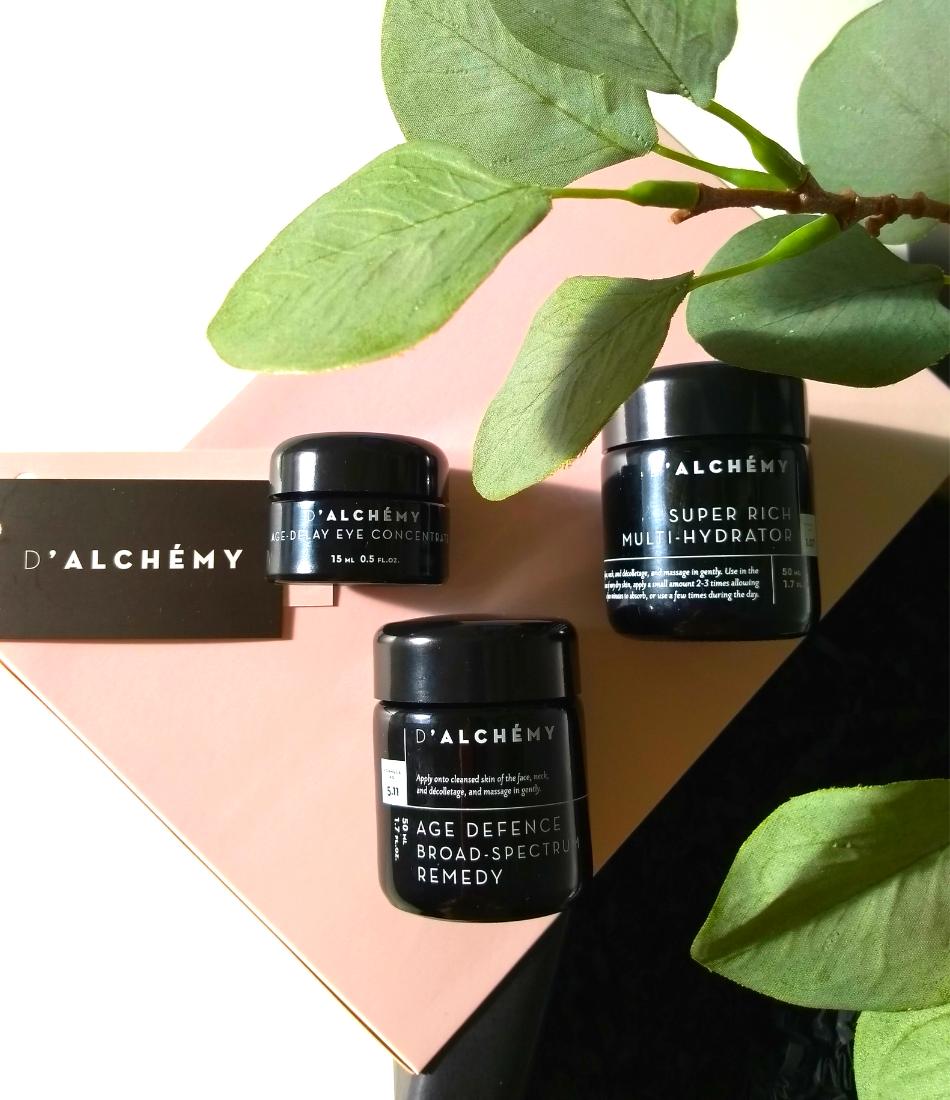 Kosmetyki D`Alchemy recenzja blog