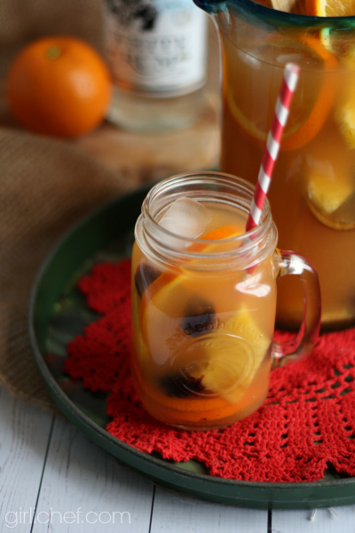 Rum Runner Sangria #CaptainsTable | www.girlichef.com