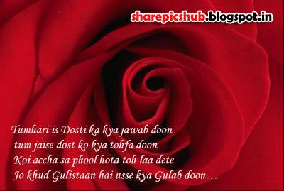 Friendship Hindi Shayari In Dosti