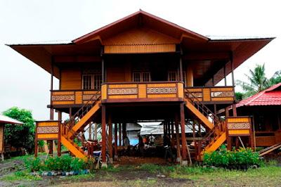 Keindahan Rumah Adat Sulawesi Utara