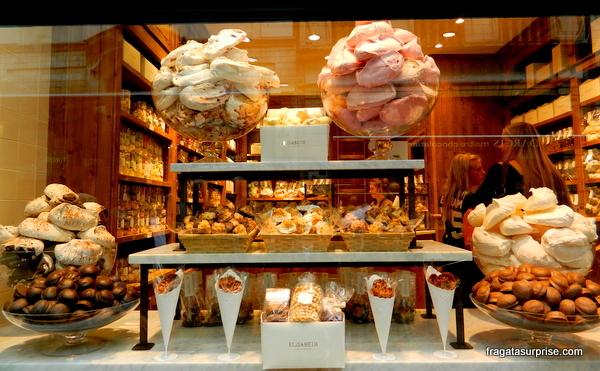 Chocolates na Bélgica: Elizabeth Chocolatier
