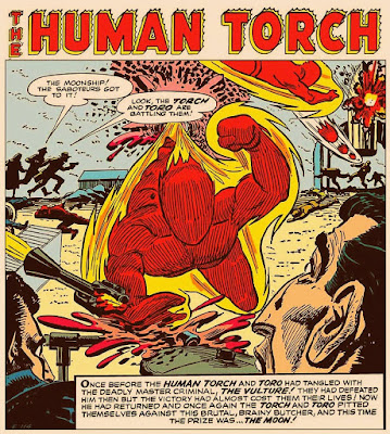 Human Torch in Young Men 28