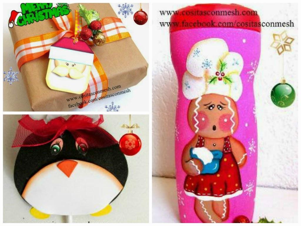 manualidades-bolsitas-navideñas-regalo