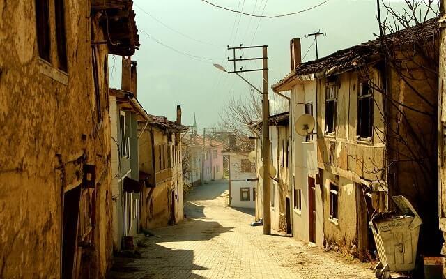 Taraklı'da eski evler