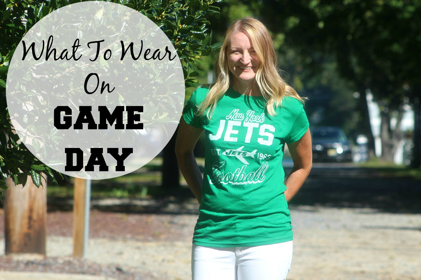 What To Wear On Game Day - Pieces of a Mom 7cdfcd3e2