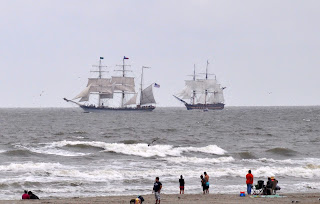 two tall ships sailing