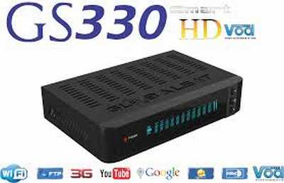 Nueva actualización de su receptor de GlobalSat GS 330 HD