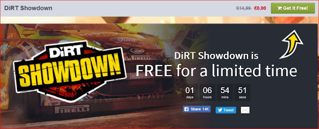 Cattura - DiRT Showdown offerto gratuitamente da Humble Bundle
