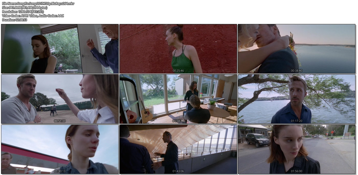 Song To Song 2017 720p BluRay 950MB x264 Movie Screenshots