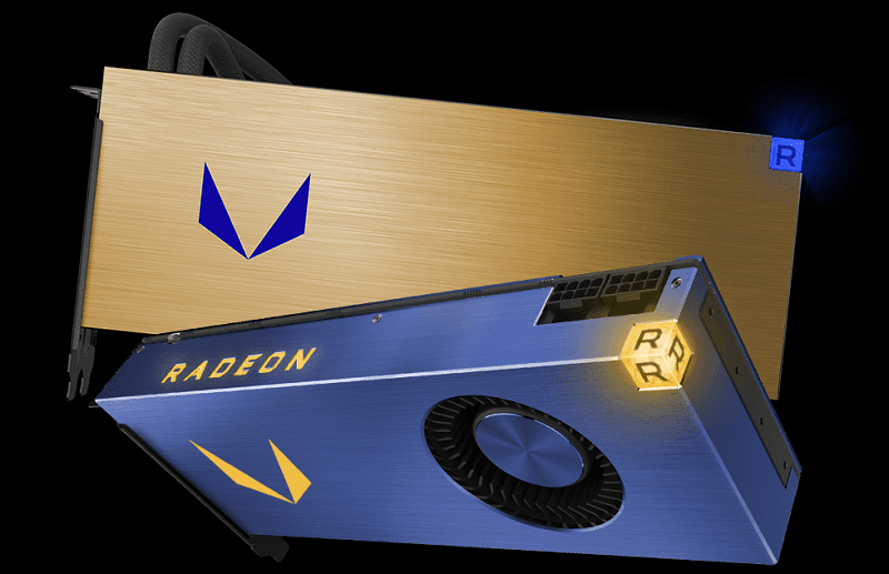 amd radeon vega liquid cooled and air cooled